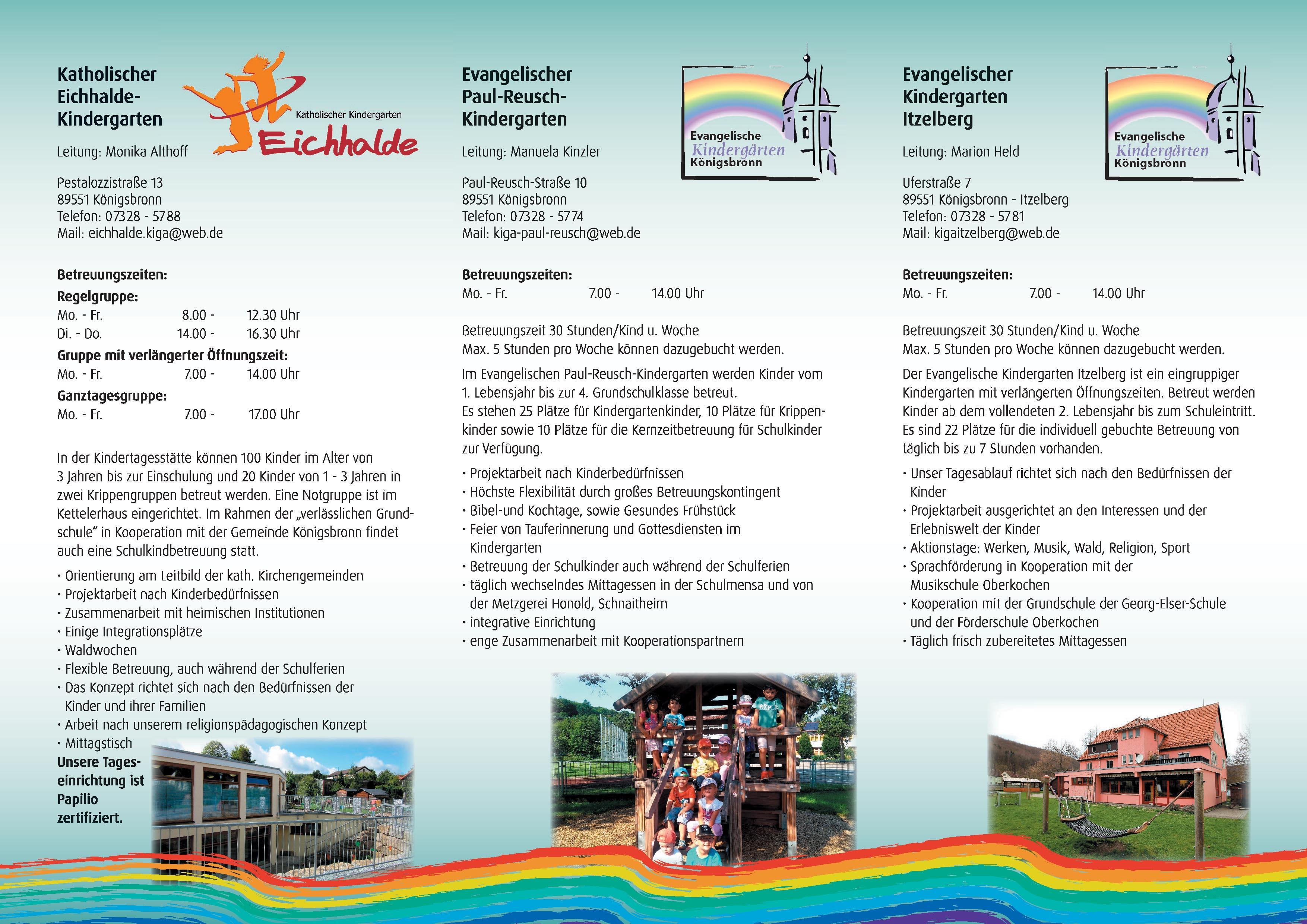 Flyer Kindergarten Seite 2