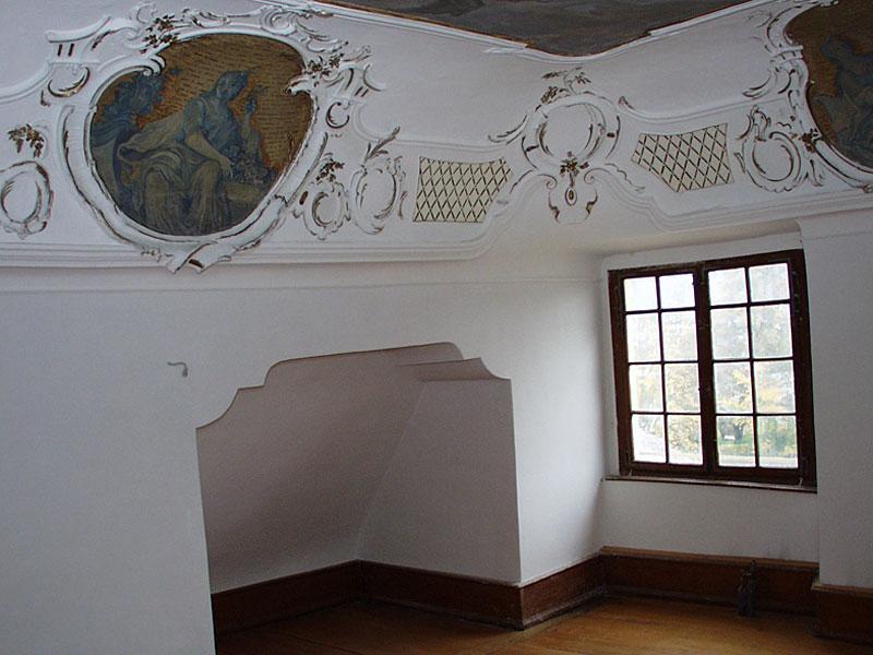 Deckenmalerei Fürstenzimmer