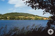 Blick auf den Itzelberger See